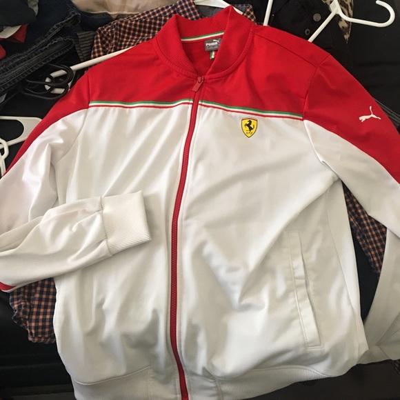Puma Rare Ferrari Jacket