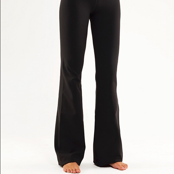 5f9daf0a03701 lululemon athletica Pants | Lululemon All Black Yoga Pant | Poshmark