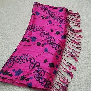 Accessories - Pink and blue pashmina