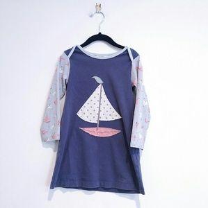 Boden Kids 2-3 Sailboat dress