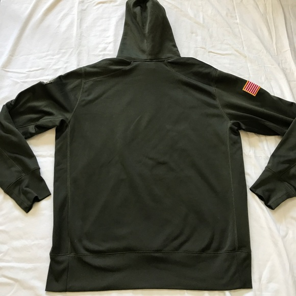 quality design 05994 29ee0 Salute to Service Carolina Panthers Nike Hoodie
