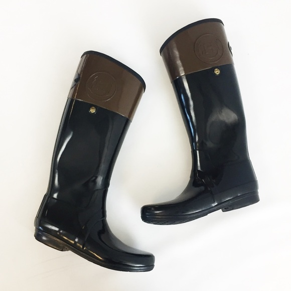 Hunter Boots Shoes - Hunter Regent Carlyle Tall Rain Boots
