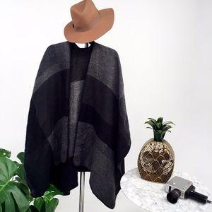 Express Knit Poncho