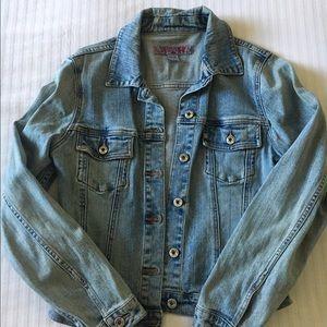 Woman's Silver Brand Jean Jacket