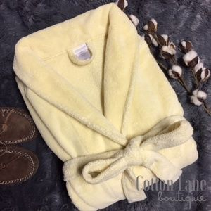 Capelli of New York Intimates & Sleepwear - Capelli NY Fluffy Yellow Bath Robe