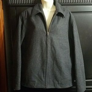 Jackets & Blazers - Women's charcoal gray Gap coat