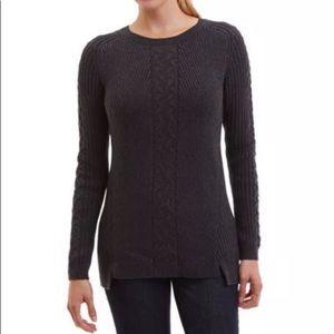 55% off Nautica Sweaters - *WHITE*NEW Nautica 100% Cotton Cable ...