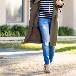 YMI Jeans - YMI ripped blue skinny jeans
