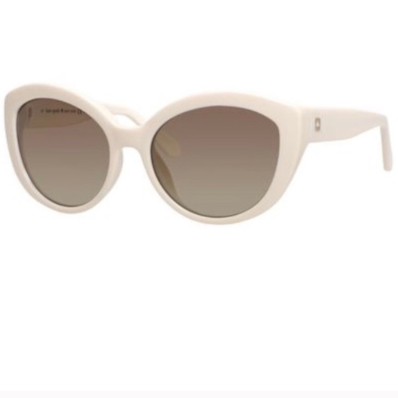 d03ff8122ab9 kate spade Accessories - Kate Spade Sherrie Cat Eye Sunglasses in White