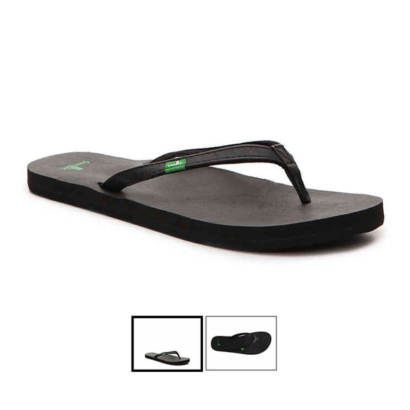 3764b7c2cb23 Sanuk Yoga Joy Flip Flops