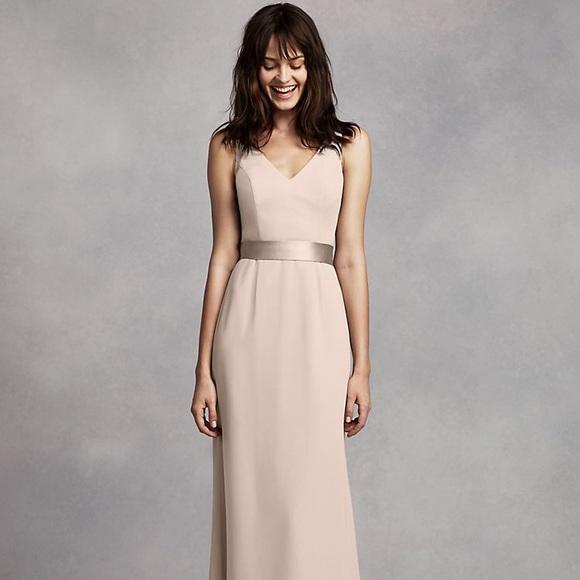 Vera Wang Champagne Cocktail Dress