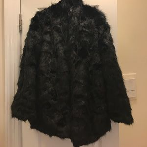 Good as new faux fur coat from revolve