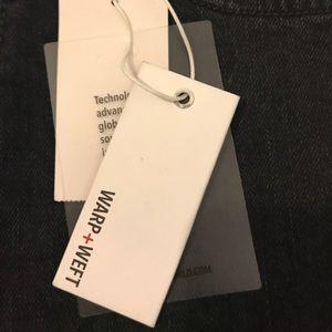 warp+weft Shorts - NWT high rise black denim short