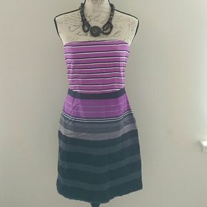 The Limited Striped Tube Dress