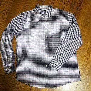 Large Oxford Button-down purple shirt DOCKERS