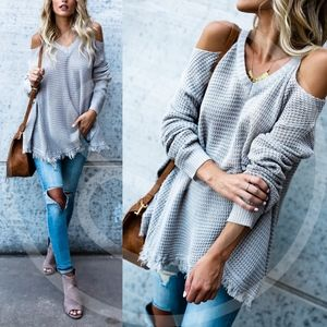 ELYSE Knit Sweater - GREY