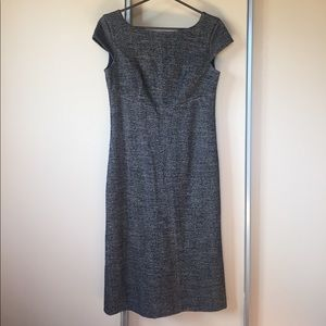 MaxMara Tweed Herringbone Dress