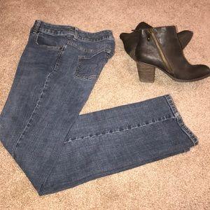 Chico's Straight leg jeans