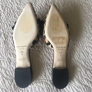 cf0a7e3deab1 kate spade Shoes - kate spade ♤ Belgrove Genuine calf hair mules