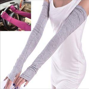 Accessories - Full length cotton fingerless UV protection gloves