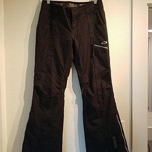 Black Oakley Ski Pants