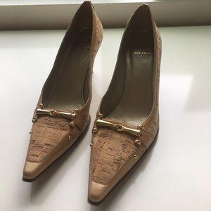 Stuart Weitzman Cork heels