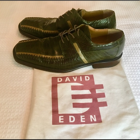 hoard as a rare commodity new arrivals top fashion David Eden Ostrich and Leather Dress Shoes