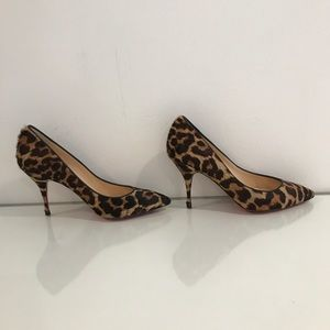 43e9eb88986d Christian Louboutin Shoes - Christian Louboutin Piou Piou Leopard Print Heel