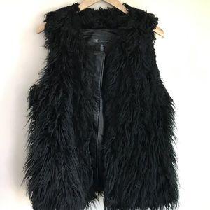 INC Fur Vest