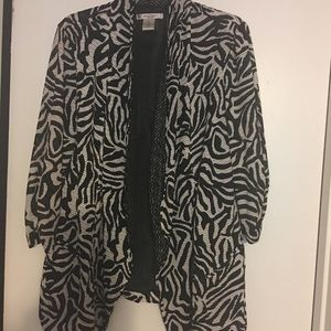Jackets & Blazers - Stylish zebra colored blazer