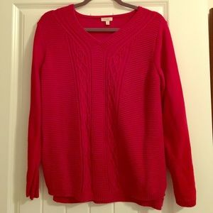 Talbots Red Sweater