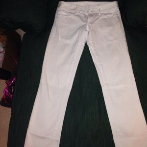 Lilly Pulitzer white jeans size 2