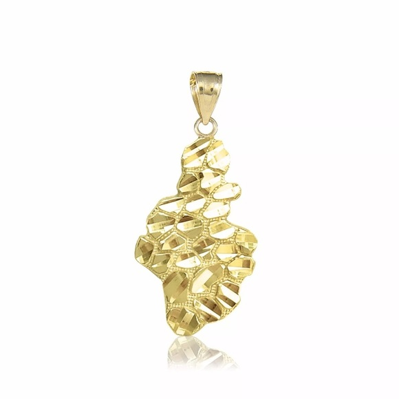 60 off other 10k solid yellow gold nugget pendant from swag for 10k solid yellow gold nugget pendant mozeypictures Image collections