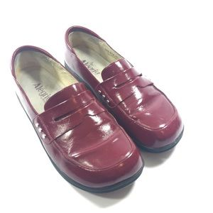 106a8546c13 Alegria Shoes - Alegria Taylor Red Waxy Loafers US 10.5