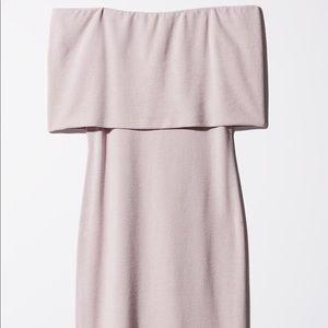 Aritzia-Wilfred Free: Off shoulder/strapless dress