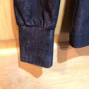 0347e21dc85de 90 Degree By Reflex Jackets & Coats - Black Distressed Yoga Jacket. 90  degrees by