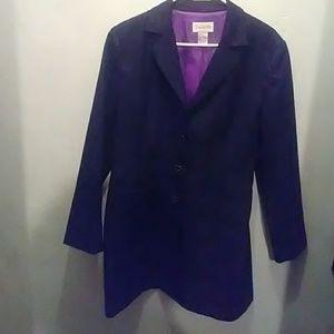 Chadwick's Vintage 3/4 length blazer