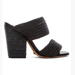 Schutz Emyly black sandal heels
