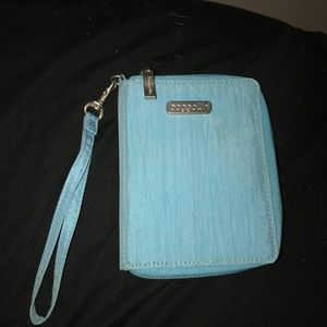 Handbags - Blue wristlet/wallet