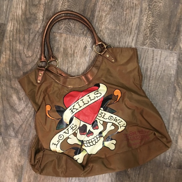 e1030cd958 Ed Hardy Handbags - Ed Hardy bag