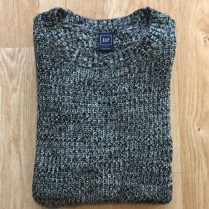 🎁 Grey Gap Knit Sweater with Side Zipper - NWOT