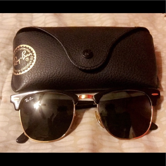 fee44964cd394 Ray-Ban Standard Clubmaster 51mm Sunglasses.