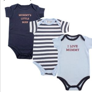 "Other - 🐳3 Piece Onesies ""Mommy"""