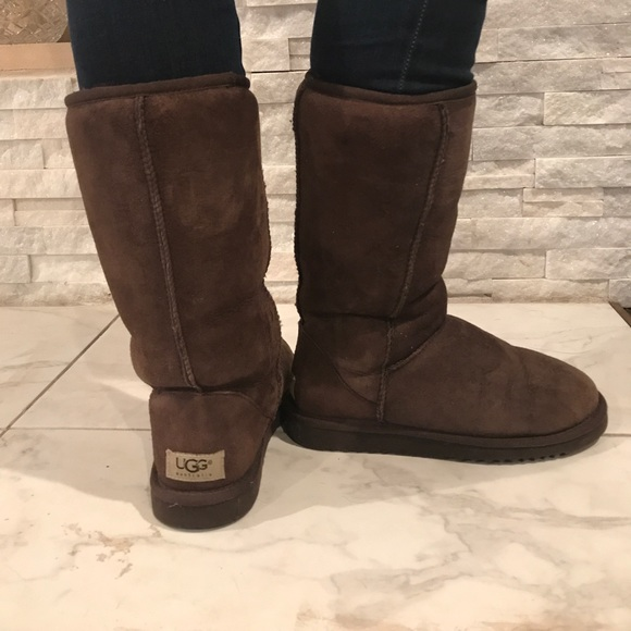 brown classic tall ugg boots