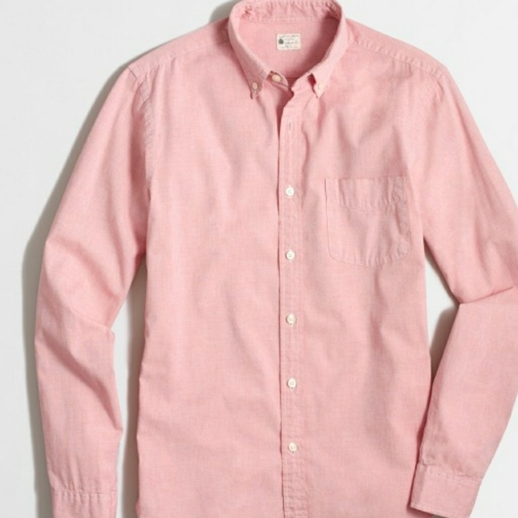 J. Crew Factory Other -  Men - J. Crew Sunwashed Oxford Button Down Shirt