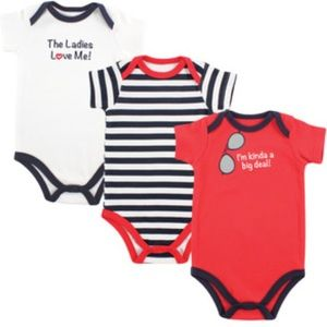 "Other - ❤️3 Piece Onesies ""The Ladies Love Me""❤️"