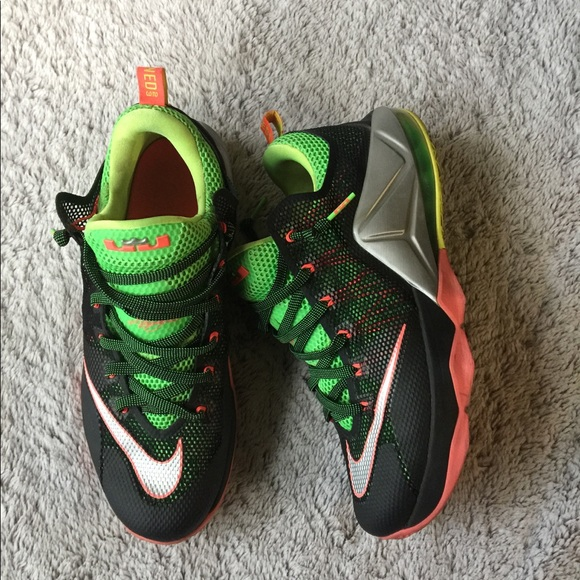 fdad4cd246ec Nike Lebron 12 Low Remix Tennis shoes. M 59f93927f739bc899f03b0e7