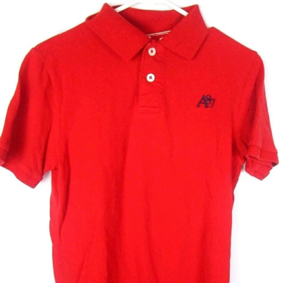 Sold**AEROPOSTALE MENS SOLID RED SHIRT small A87