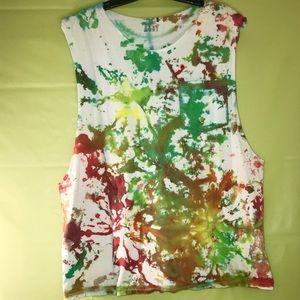 Tie-Dye tank top