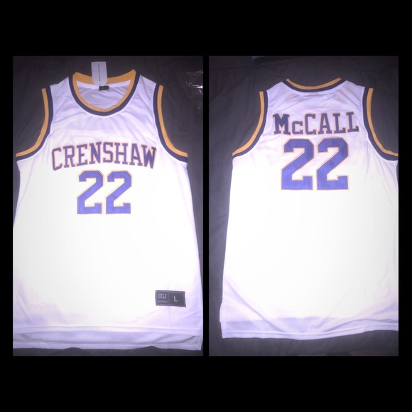9028a3ac73f Other | Quincy Mccall Crenshaw Jersey Love Basketball | Poshmark